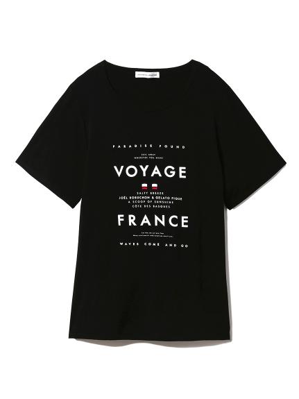 【Joel Robuchon & gelato pique】クルーズTシャツ(BLK-F)