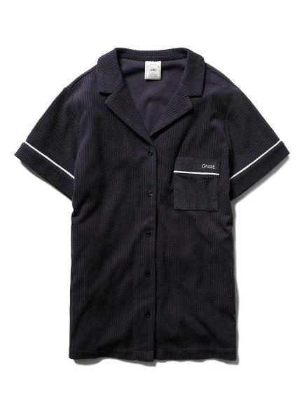 パイルリブシャツ(NVY-F)