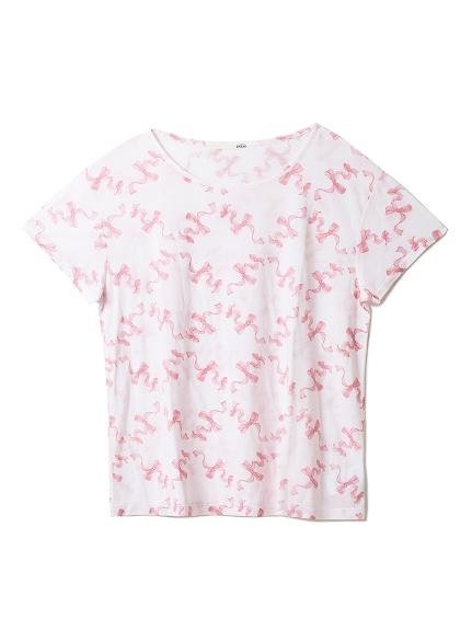 リボンTシャツ