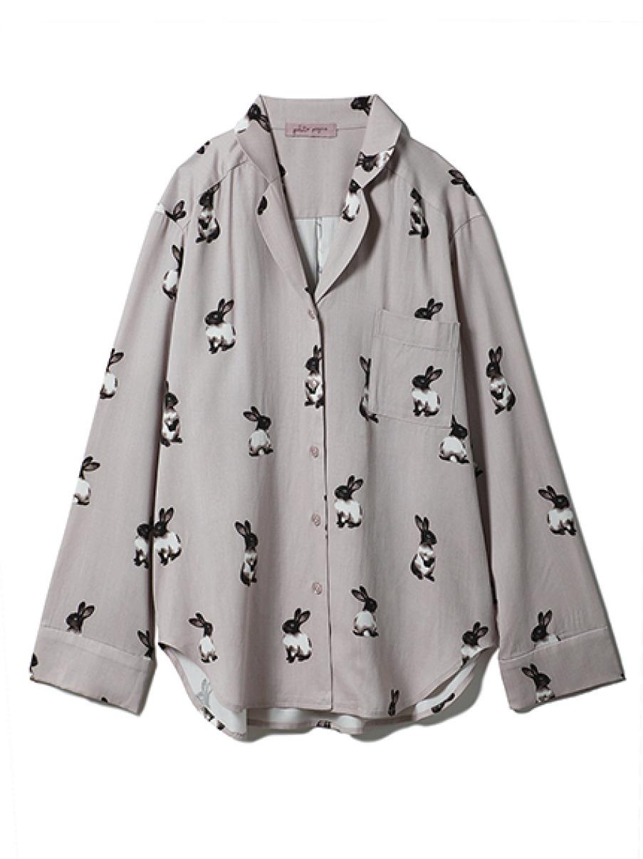 ウサギシャツ(GRY-F)