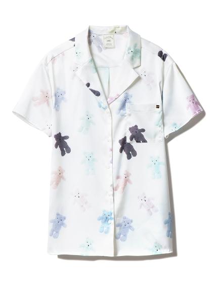 テディベアサテンシャツ
