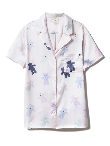 テディベアサテンシャツ(PNK-F)