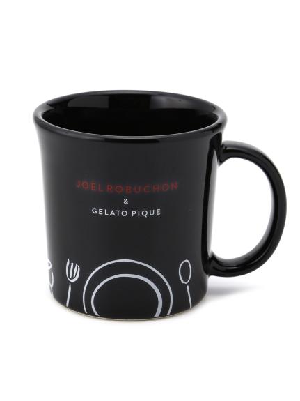 【Joel Robuchon & gelato pique】マグカップ(BLK-F)