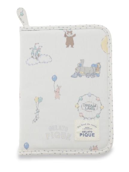 ドリームランド母子手帳ケース(BLU-F)