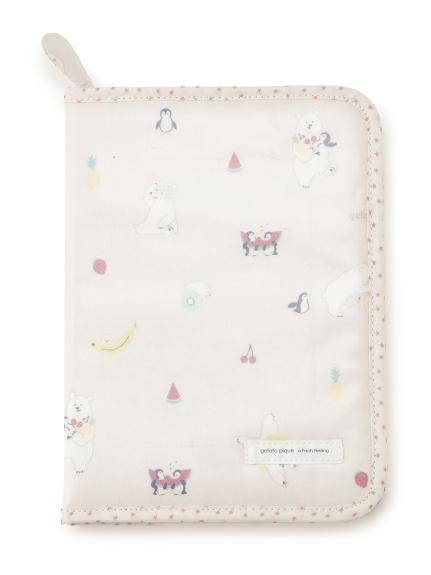 シロクマフルーツ母子手帳ケース