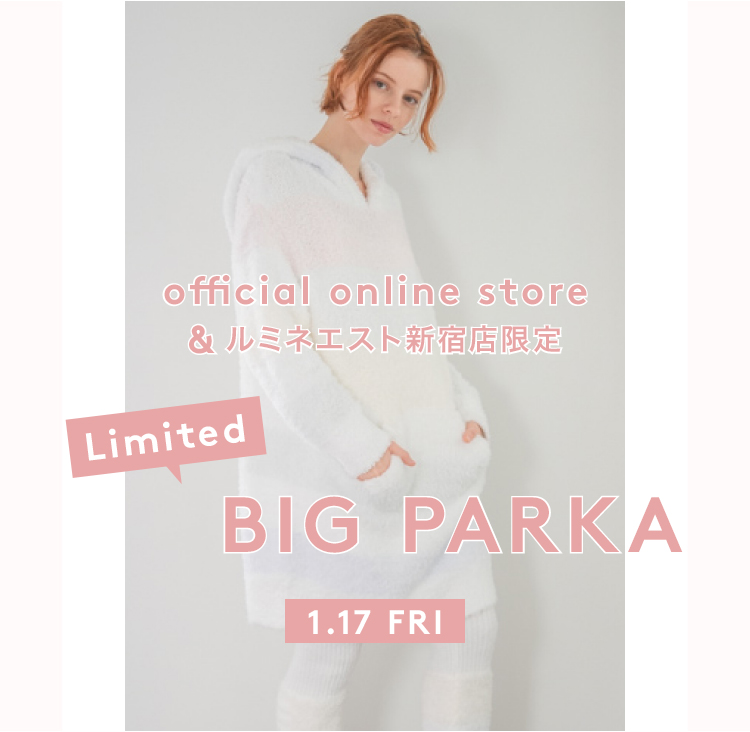 official online store&ルミネエスト新宿店限定 Limited BIG PARKA 1.17 FRI