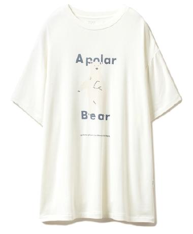 シロクマワンポイント冷感Tシャツ ¥4,200+tax