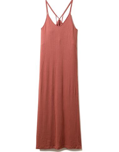 リブキャミソール ドレス ¥5,600+tax