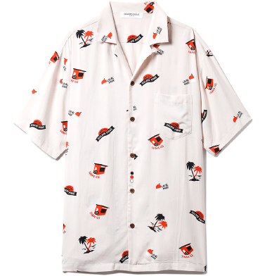 HOMME ハワイアンシャツ ¥6,000+tax