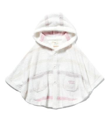 'スムーズィー'6ボーダー baby ポンチョ ¥5,600+tax