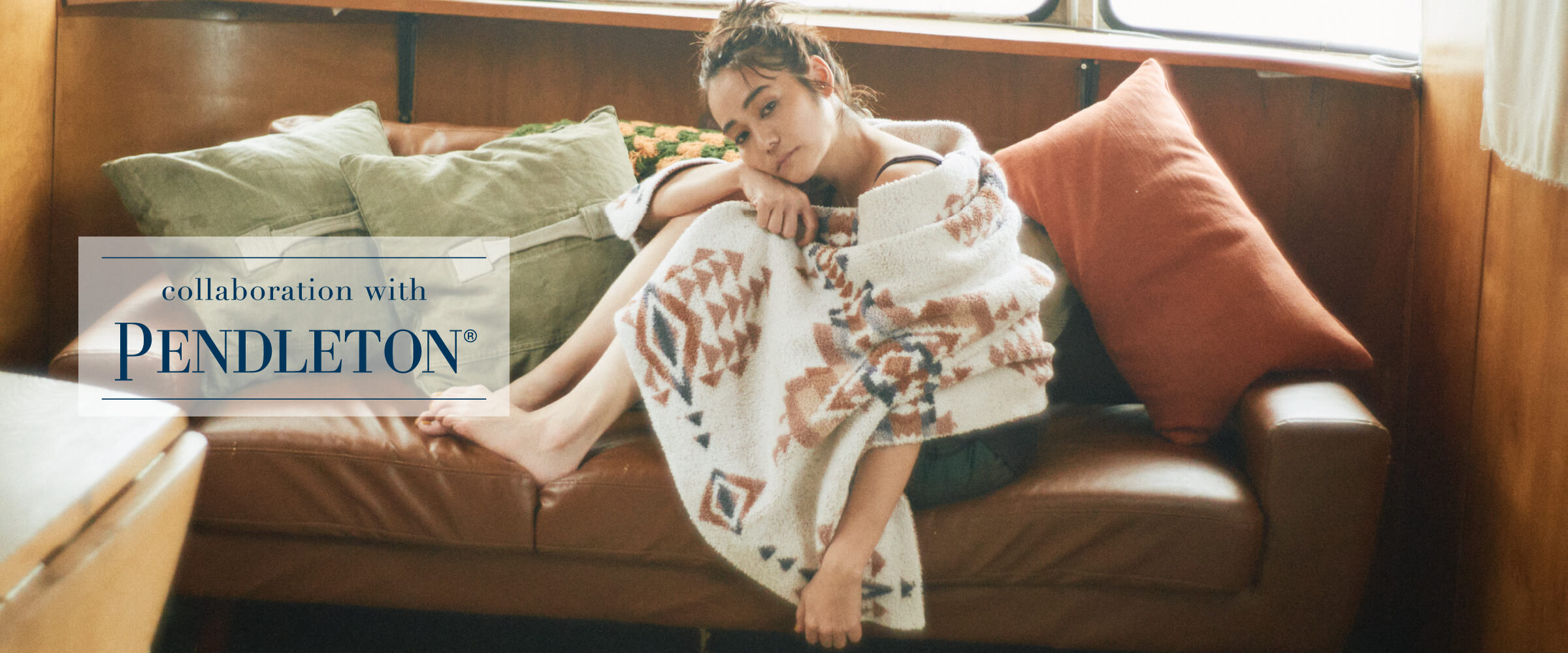 collaboration with PENDLETON®