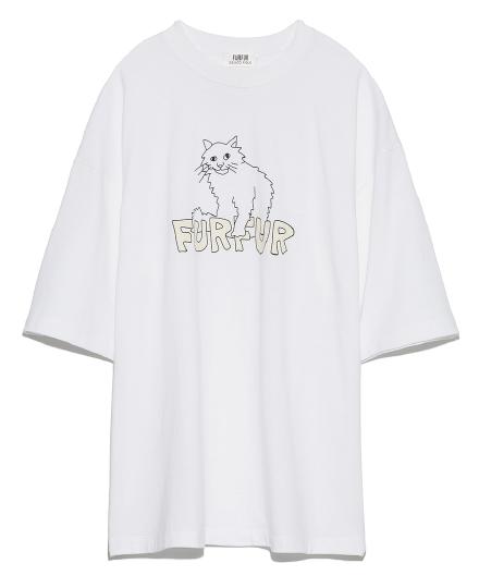 'アブストラクトTシャツ