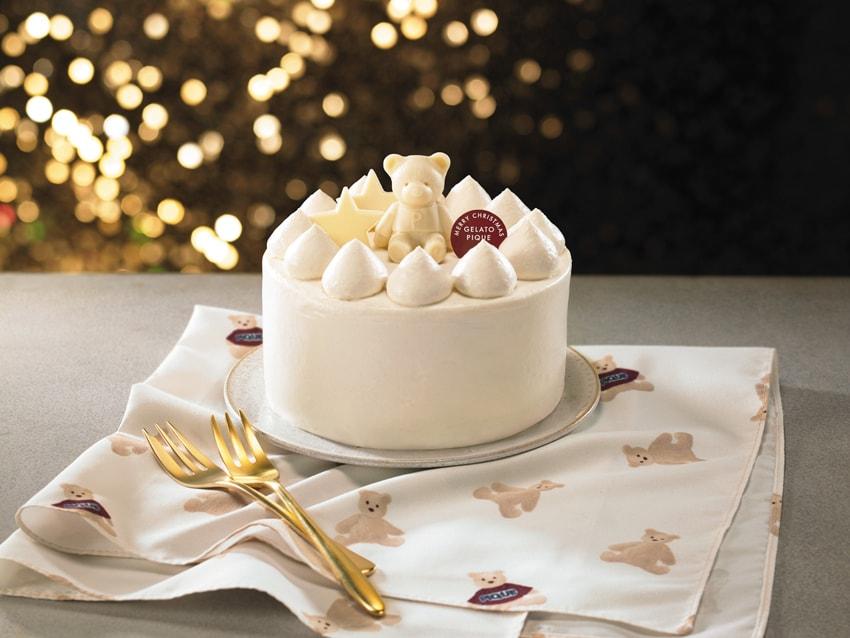 gelato pique White Christmas Cake -img2