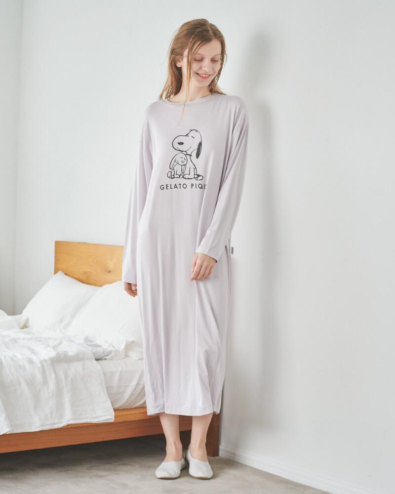 プリントドレス